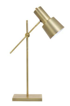 Tafellamp 15x15x68-82 cm PRESTON antiek brons