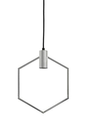 Hanglamp 30x37 cm AINA chroom