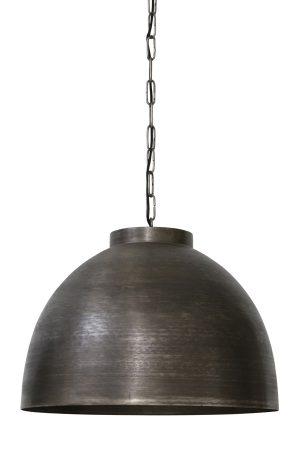 Hanglamp Ø60x42 cm KYLIE donker ruw nikkel