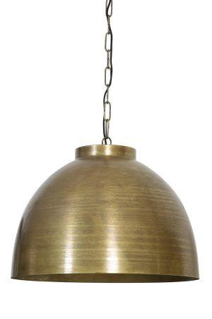 Hanglamp Ø60x42 cm KYLIE ruw oud brons
