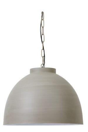 Hanglamp Ø60x42 cm KYLIE X-large beton-wit
