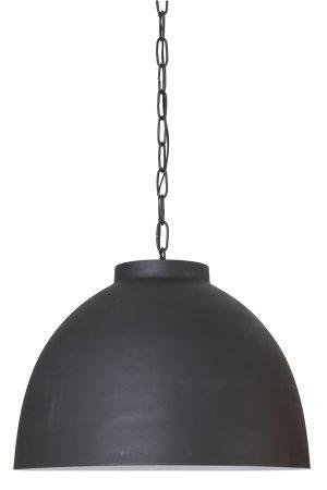 Hanglamp Ø60x42 cm KYLIE X-large grafiet-wit