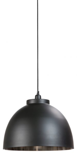 Hanglamp Ø45x32 cm KYLIE zwart-nikkel