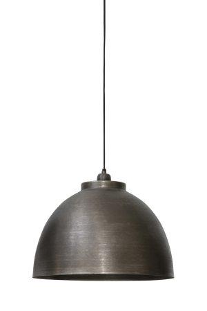 Hanglamp Ø45x32 cm KYLIE donker ruw nikkel