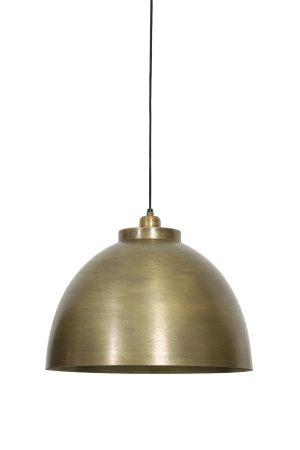 Hanglamp Ø45x32 cm KYLIE ruw oud brons