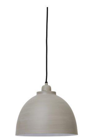 Hanglamp Ø30x26 cm KYLIE beton-wit