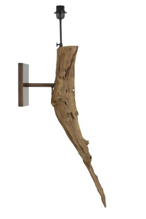 Wall lamp Ø30x100 cm DULOVO wood natural