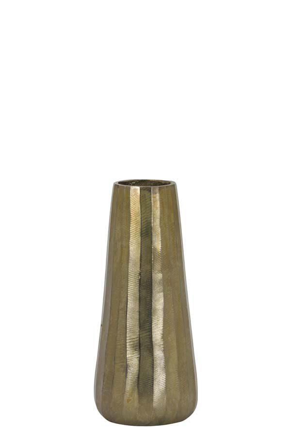 Vaas Ø13x29 cm DURANGO ruw antiek brons