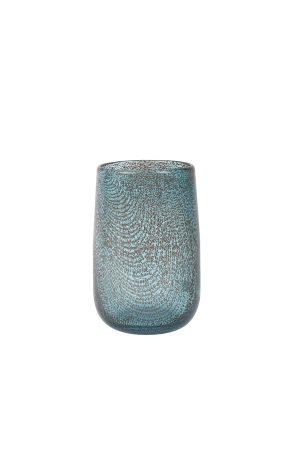 Vaas Ø13x19 cm CONRAN glas blauw