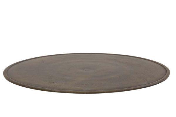 Dienblad Ø50 cm KALSO antiek brons-Quality2life.nl