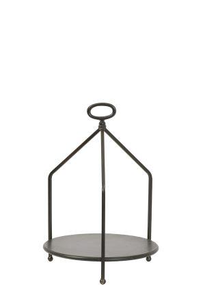 Etagere 1 laag Ø30x43,5 cm AURDAL donker brons-Quality2life.nl