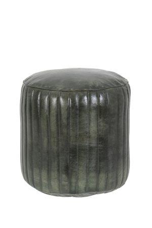 Poef Ø42x45 cm LUKO groen
