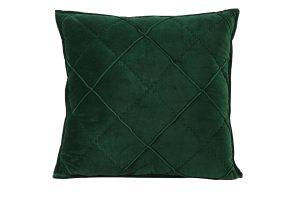 Kussen 50x50 cm DIAMOND velvet groen