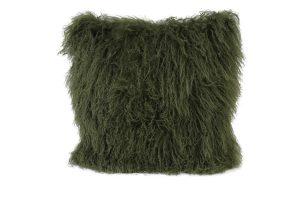 Kussen 40x40 cm ELVINE olijf groen