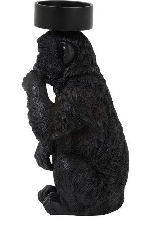 5x15x32 cm MONKEY zwart
