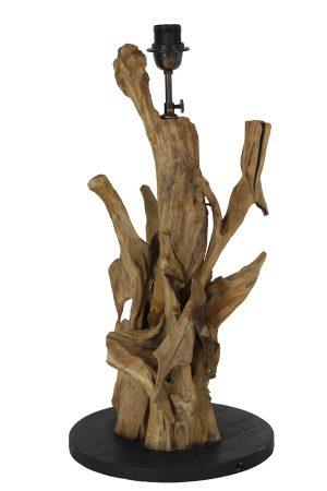 Lampvoet Ø30x63-75 cm ARBANASI hout