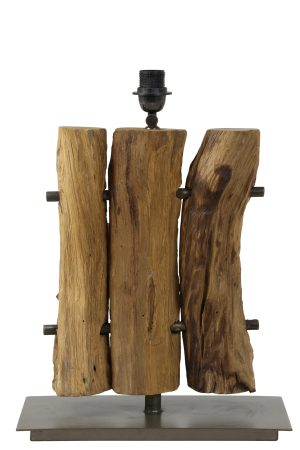 Lampvoet 40x20x60-80 cm GABROVO hout