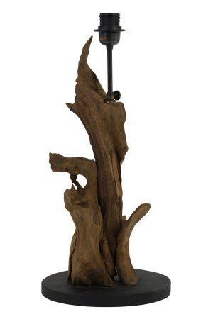 Lampvoet Ø25x50 cm IKAL hout naturel bruin