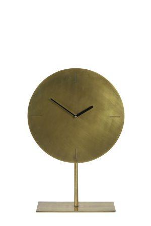 Klok op voet Ø30x45 cm WAIWO antiek brons