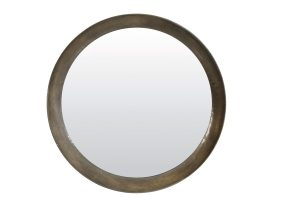 Spiegel Ø120 cm SPIRIT antiek zilver