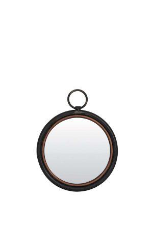 Spiegel Ø30 cm IDEAL tin koper