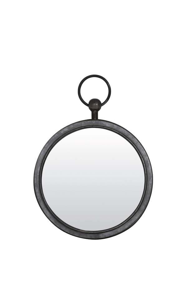 Spiegel 36x42x5 cm PURE zink