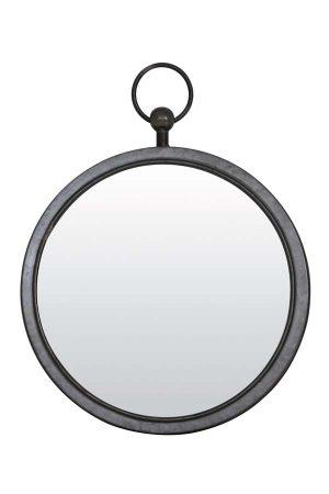 Spiegel 46x52x6 cm PURE zink