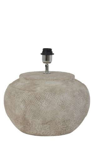 Lampvoet Ø36x34 cm VERTAS keramiek cement