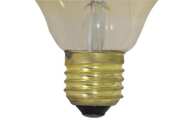 5 cm LIGHT 4W amber E27 dimbaar
