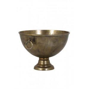 Champagnekoeler CHIQUE Antiek Brons 53x46x33cm 6302018 Quality2life.nl