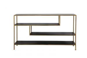 Quality2life.nl 6738085 Kast mat zwart-goud YLAYA