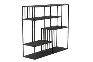 Quality2life.nl 6742812 Wandkast zwart YVONA