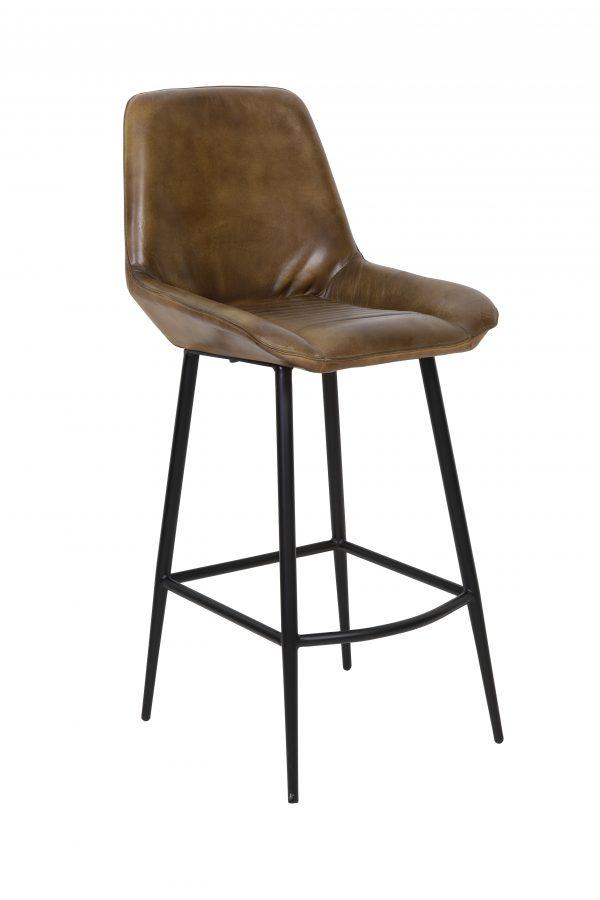 Barkruk ZUKO antiek-bruin 45x58x105cm 6730252 Quality2life.nl