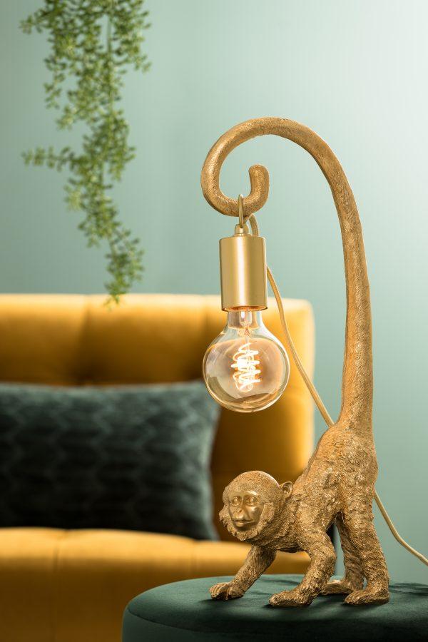 Ornament goud MONKEY 6979685 45cm Quality2life.nl
