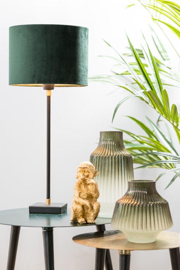 8194912 Lampvoet 10x10x40 cm MOSIRO mat zwart-brons Quality2life.nl