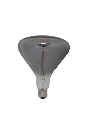 Deco-LED SMOKE triangle 14x17cm LIGHT 3W-E27-dimbaar Quality2life.nl