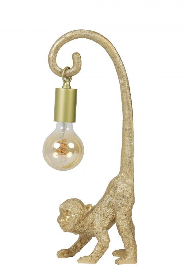 Elektra voor ornament 4,5x4,5x190cm goud MONKEY 6979685_3302285 Quality2life.nl