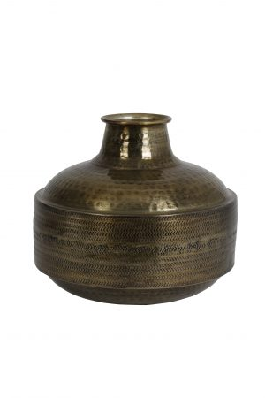 Vaas POMOY antiek-brons Ø38x35cm 5967518 Quality2life.nl