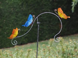 Tuinornament Balans 3 vlinders 130x5x60cm MD16200 Quality2life.nl