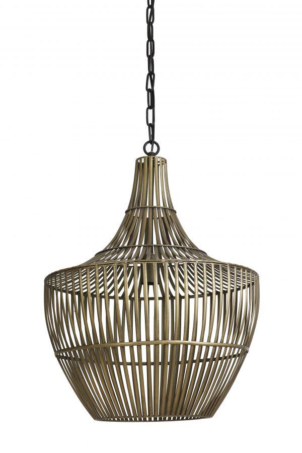 Hanglamp Ø38x46 cm STELLA antiek brons 2942818 Quality2life.nl