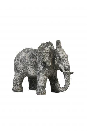 Ornament 24x17x20,5cm ELEPHANT beton 6939721 Quality2life.nl
