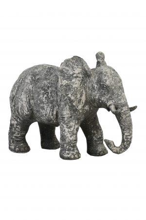Ornament 30,5x18,5x24cm ELEPHANT beton 6939821 Quality2life.nl
