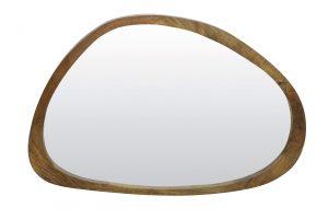 Spiegel 120x5x80cm SONORA hout bruin 7311184 Quality2life.nl