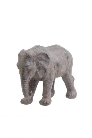 Ornament 39x19x28cm ELEPHANT bruin 7401283 Quality2life.nl