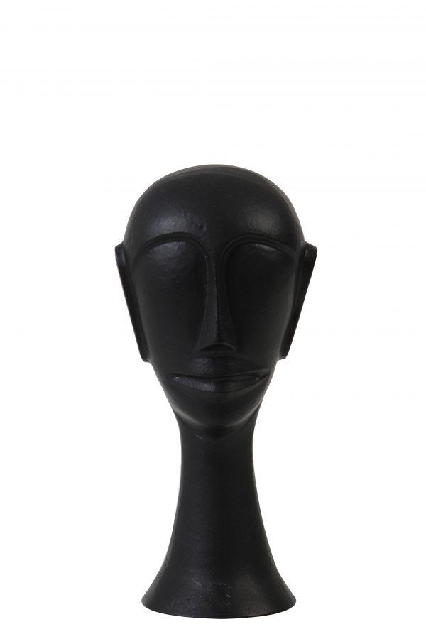 Ornament 10,5x10x22,5cm HEAD zwart 7419912 Quality2life.nl