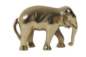 Ornament 22x14x15cm ELEPHANT goud 7420385 Quality2life.nl