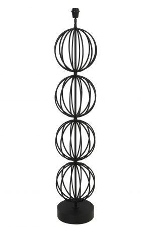 Vloerlamp Ø26,5x129cm LOBOS zwart 8212512 Quality2life.nl