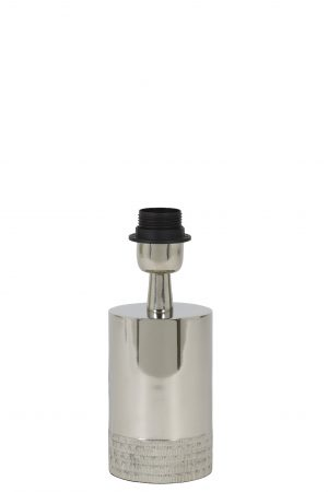 Lampvoet Zilver SAVI Ø9,5x17cm 8190419 Quality2life.nl