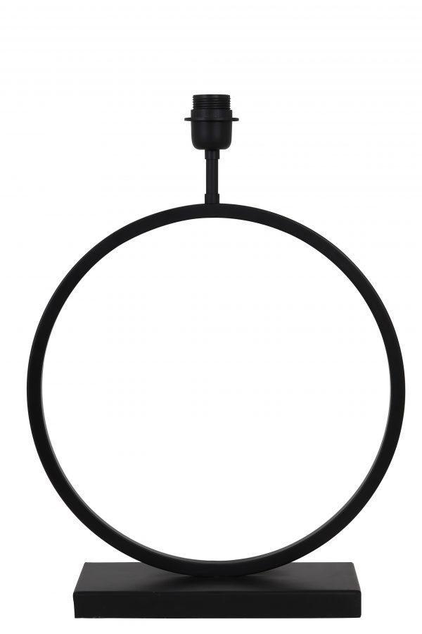 Lampvoet Zwart LIVA 40x12,5x52cm 8190958 Quality2life.nl