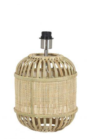 Lampvoet Ø25x30 cm ALIFIA bamboe+webbing naturel 8199630 Quality2life.nl